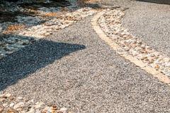 道路包括石头 库存图片