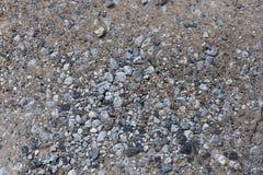 道路和石渣细节  免版税库存图片