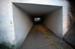 道路在桥梁下 免版税图库摄影
