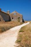 道路在15世纪附近我们的海角的夫人或诺萨Senhora 免版税库存图片