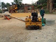 道路工程的机器 库存照片