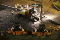 道路工程 免版税图库摄影