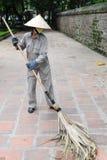 道路清扫工越南 免版税库存图片