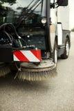 道路清扫工 库存照片