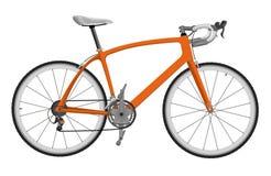 道路赛车自行车 免版税库存照片