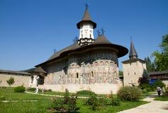 遗产修道院sucevita科教文组织 库存照片