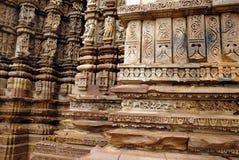 遗产印度khajuraho站点世界 图库摄影