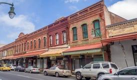 遗产大厦在唐人街在檀香山,夏威夷 免版税库存图片