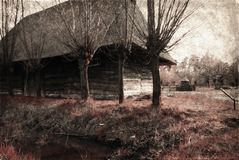 遗产房子老公园 免版税图库摄影