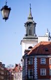 遗产波兰站点科教文组织华沙世界 图库摄影
