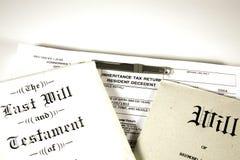 遗产税 免版税库存图片