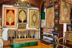 遗产艺术古董店在Mattancherry,高知 免版税库存照片