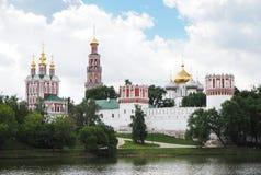 1524年遗产被题写的列表修道院莫斯科novodevichy俄国科教文组织是世界 莫斯科俄国 库存图片