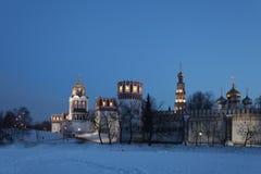 1524年遗产被题写的列表修道院莫斯科novodevichy俄国科教文组织是世界 莫斯科 俄国 图库摄影