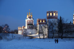 1524年遗产被题写的列表修道院莫斯科novodevichy俄国科教文组织是世界 莫斯科 俄国 免版税库存图片