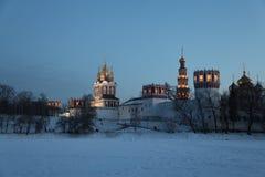 1524年遗产被题写的列表修道院莫斯科novodevichy俄国科教文组织是世界 莫斯科 俄国 库存图片