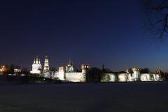 1524年遗产被题写的列表修道院莫斯科novodevichy俄国科教文组织是世界 莫斯科 俄国 免版税图库摄影