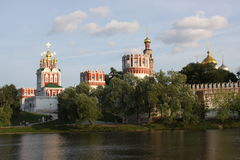 1524年遗产被题写的列表修道院莫斯科novodevichy俄国科教文组织是世界 莫斯科 俄国 免版税库存照片