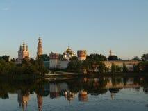 1524年遗产被题写的列表修道院莫斯科novodevichy俄国科教文组织是世界 莫斯科 俄国 库存照片