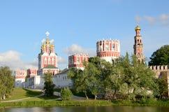 1524年遗产被题写的列表修道院莫斯科novodevichy俄国科教文组织是世界 莫斯科 免版税库存照片