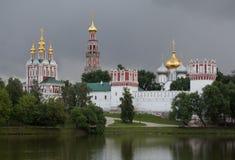 1524年遗产被题写的列表修道院莫斯科novodevichy俄国科教文组织是世界 库存图片