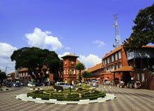 遗产镇在马六甲 免版税库存照片