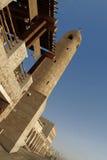 遗产建筑学在多哈 免版税库存照片