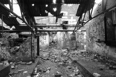 遗弃工厂 库存照片