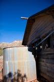 遗弃沙漠结构 免版税库存图片