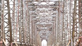 遗弃铁路桥路 老建筑没有人民没人 股票视频