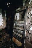 遗弃门-被放弃的结核病疗养院-新泽西 免版税库存图片