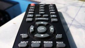 遥控与许多按钮 库存图片