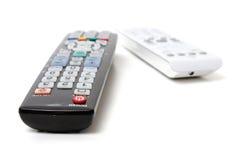 遥控电视 免版税图库摄影