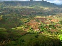 遥远的印第安村庄 免版税图库摄影