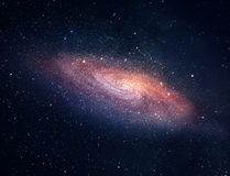遥远的星系 免版税库存图片