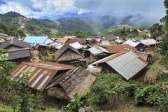 遥远的村庄 库存图片
