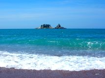 遥远的海岛 库存照片