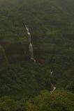 遥远的瀑布在Lonavala 免版税库存图片