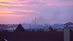 遥远的火在住宅区 股票录像
