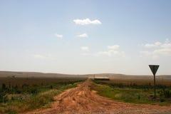 遥远的牛驻地,西澳州 库存照片