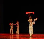 遭遇七年现代舞蹈 免版税库存照片