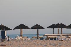 遮光罩,海岛Tavira葡萄牙 库存图片