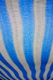 遮篷蓝色白色 免版税库存照片