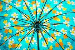 遮阳伞样式 免版税库存照片
