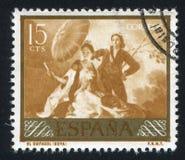 遮阳伞Goya 免版税库存照片