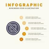 避免,分心,机动性,电话坚实象Infographics 5步介绍背景 向量例证