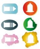 避孕套。 库存例证