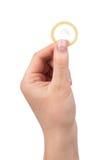 避孕套查出 库存照片