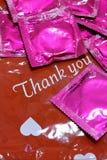 避孕套 免版税图库摄影