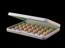 避孕药 免版税库存图片
